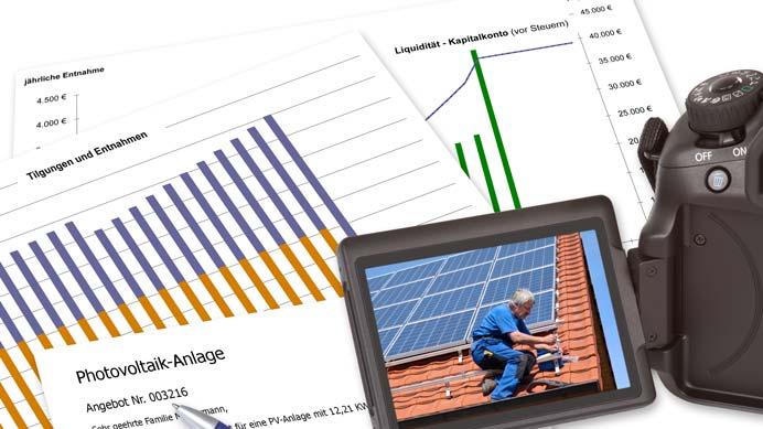 Angebot Solaranlage mit Speicher