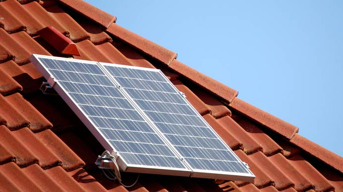 Mini Photovoltaikanlage
