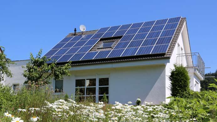 PV Anlage auf dem eigenen Dach