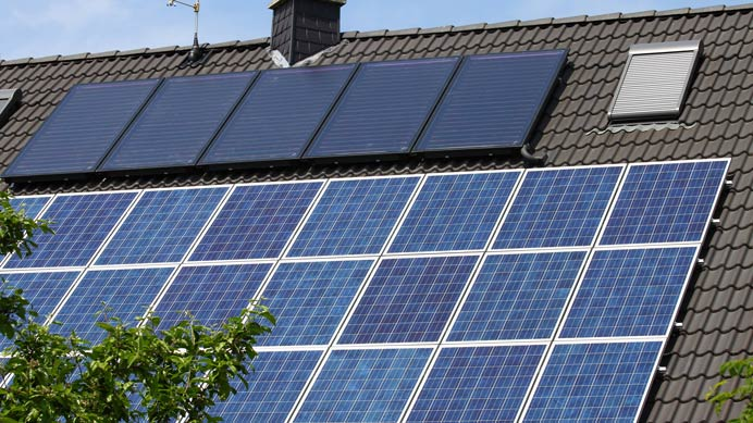 Solarthermie und Photovoltaik