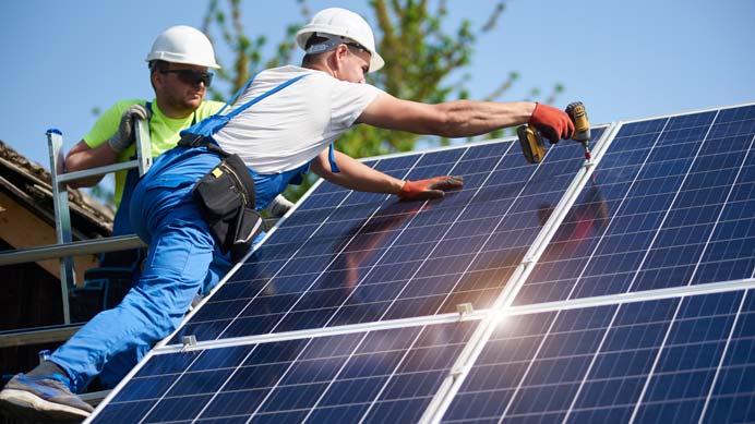 Überprüfung der PV-Anlage
