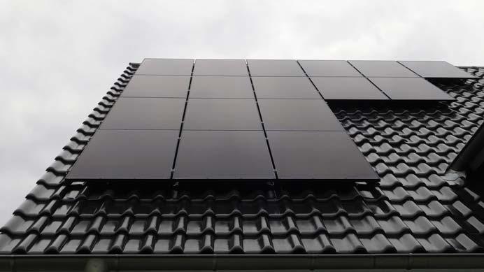 schwarze PV-Module