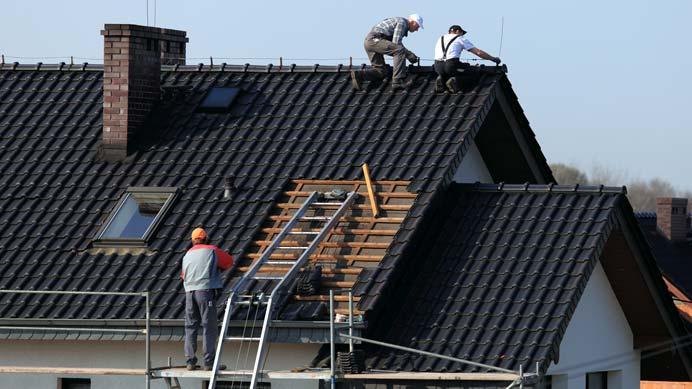 Vorbereitung Dach für Photovoltaikanlage