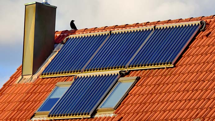 Solarkollektoren für Solarthermie