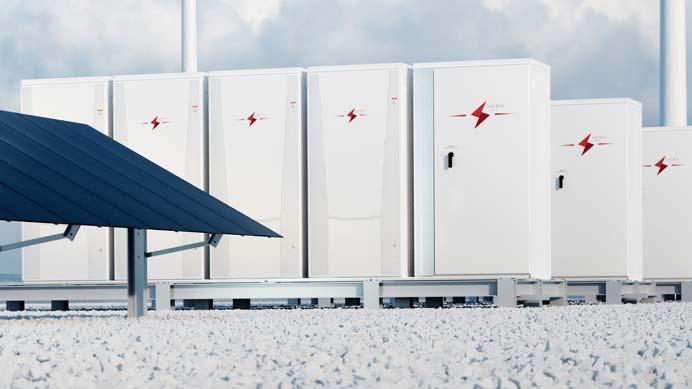 Stromspeicher Solaranlage