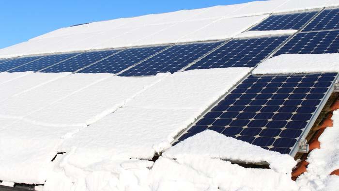 Solar und Schnee