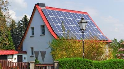 Ostdach Photovoltaik