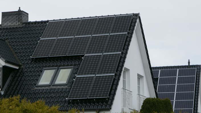 Photovoltaik Dachausrichtung
