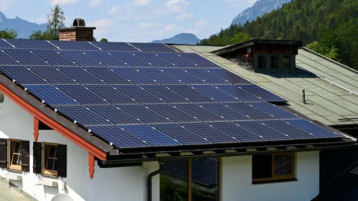 Photovoltaik Neigungswinkel 35 Grad