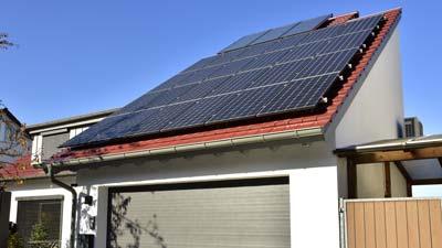 Photovoltaik mit Schatten