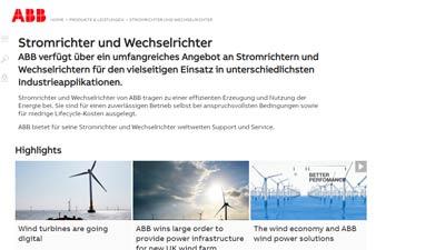 ABB Wechselrichter