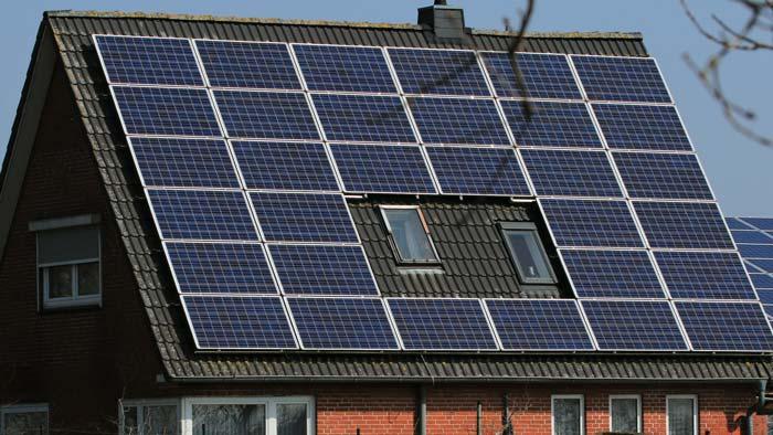 PV-Anlage zur Erzeugung von Solarstrom