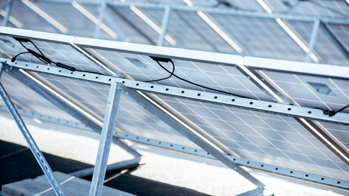 offenes Gestell Flachdach-Photovoltaik Montagesystem